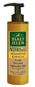 Biały Jeleń Apteka Alergika Aksamitna kuracja intensywnie regenerująca do ciała 200ml _dsu24.pl - 2876128122