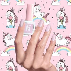 Hi Hybrid Lakier hybrydowy Unicorn nr 208 Bright Pink 5ml _dsu24.pl - 2876129873