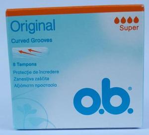 O.B. tampony ob ORIGINAL 8szt SUPER _dsu24.pl - 2885854210