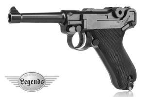 Wiatrówka - Pistolet Legends P.08 kal. 4,5mm BB - 2822874342