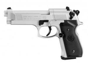 Wiatrówka - Pistolet BERETTA 92 FS Nikiel - 2859966467