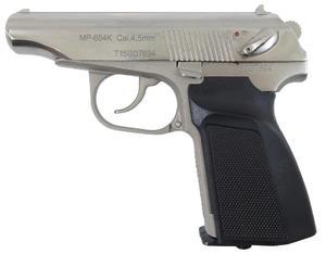 Wiatrówka Baikał MP-654K Makarov 4,5 mm Silver - 2856544655