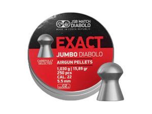Śrut diabolo JSB Exact Jumbo 5,50 mm 250 szt. - 2859305784