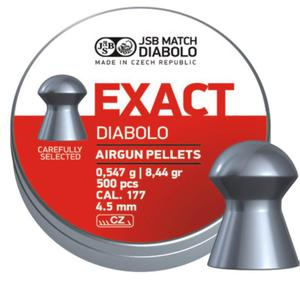 Śrut Diabolo JSB EXACT 4,51 mm 500szt. - 2875157689