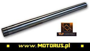 TLT rury nośne teleskopów lag średnica 43mm długość 535mm YAMAHA FZ8 2010- TLT MOTOR TECROL rury amortyzatorów teleskopów lagi do motocykli SUPER CENY sklep motocyklowy MOTORUS.PL - 2863790729