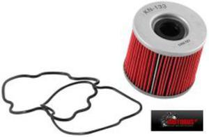 KN-133 motocyklowy sportowy filtr oleju KN sportowe filtry powietrza i oleju SUPER CENY sklep motocyklowy MOTORUS.PL - 2822427527