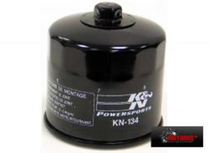 KN-134 motocyklowy sportowy filtr oleju KN sportowe filtry powietrza i oleju SUPER CENY sklep motocyklowy MOTORUS.PL - 2822427528