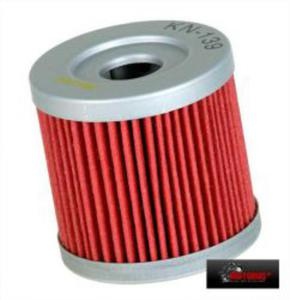 KN-139 motocyklowy sportowy filtr oleju KN sportowe filtry powietrza i oleju SUPER CENY sklep motocyklowy MOTORUS.PL - 2822427531