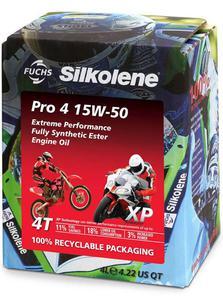 SILKOLENE PRO 4 15W50 4T XP syntetyczny ESTER olej motocyklowy 4L FUCH Silkolene olej silnikowy SUPER CENACH sklep motocyklowy MOTORUS.PL - 2859915306