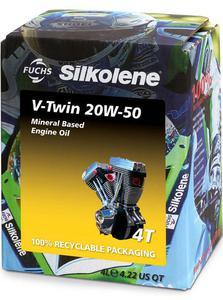 SILKOLENE V-TWIN 20W50 4T motocyklowy olej silnikowy 4L FUCHS Silkolene olej motocyklowy silnikowy PROMOCYJNE CENY sklep motocyklowy MOTORUS.PL - 2859915346