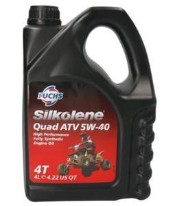 SILKOLENE PRO QUAD ATV 5W40 4T FULLY SYNTHETIC olej silnikowy 4L FUCHS Silkolene olej motocyklowy silnikowy PROMOCYJNE CENY sklep motocyklowy MOTORUS.PL - 2859915347