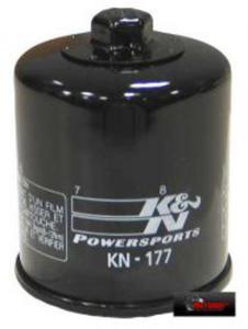 KN-177 motocyklowy sportowy filtr oleju KN sportowe filtry powietrza i oleju SUPER CENY sklep motocyklowy MOTORUS.PL - 2822427558