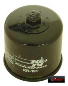 KN-191 motocyklowy sportowy filtr oleju KN sportowe filtry powietrza i oleju SUPER CENY sklep motocyklowy MOTORUS.PL - 2822427560