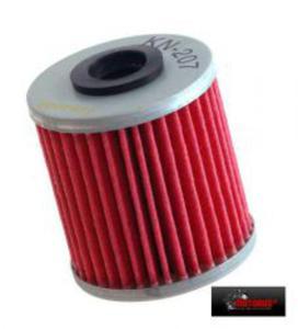 KN-207 motocyklowy sportowy filtr oleju KN sportowe filtry powietrza i oleju SUPER CENY sklep motocyklowy MOTORUS.PL - 2822427567