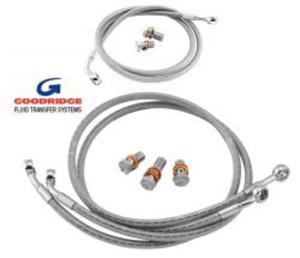 GOODRIDGE przewody hamulcowe RACING przód i tył Suzuki SV650S 99-02 GOODRIDGE najlepsze przewody hamulcowe w SUPER cenach w sklepie motocyklowym MOTORUS.PL - 2822432133