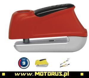 ABUS 350 TRIGGER Alarm blokada tarczy hamulcowej z alarmem trzpień 10mm ABUS zabezpieczenia motocyklowe w SUPER CENACH sklep motocyklowy MOTORUS.PL - 2822433332