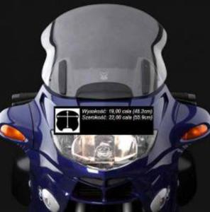 ZTECHNIK Z2458 VSTREAM wysoka szyba motocyklowa BMW R1100RT 94-00 ZTECHNIK szyby motocyklowe MEGA CENY i PROMOCJE sklep motocyklowy MOTORUS.PL - 2822434073