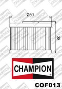 CHAMPION COF013 motocyklowy filtr oleju HF112 - 2822434852