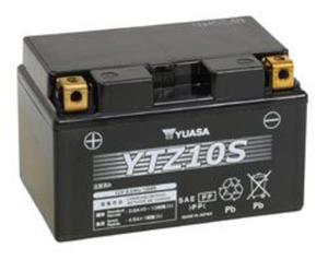 YUASA YTZ10S 12V 9,1Ah 190A L+ żelowy akumulator motocyklowy ZALANY bezobsługowy YUASA akumulatory baterie motocyklowe SUPER CENY sklep motocyklowy MOTORUS.PL - 2822435029