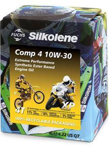 SILKOLENE COMP 4 10W30 XP 4T olej silnikowy motocyklowy 4 Litry FUCHS Silkolene olej silnikowy w NAJLEPSZEJ CENIE w sklepie motocyklowym MOTORUS.PL - 2822437290