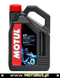 MOTUL 3000 4T 20W50 motocyklowy olej silnikowy MINERALNY 4L MOTUL chemia motocyklowa oleje motocyklowe SUPER CENY sklep motocyklowy MOTORUS.PL - 2822427978