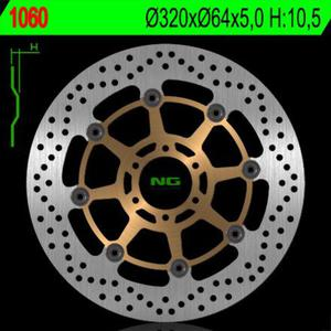 NG1060 motocyklowa tarcza hamulcowa PRZÓD YAMAHA XJR1200/1300, KTM DUKE 690, APRILIA, DUCATI (320X64X5) NG motocyklowe tarcze hamulcowe SUPER CENY sklep motocyklowy MOTORUS.PL - 2822428506