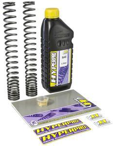 HYPERPRO sprężyny progresywne przód z olejem HONDA CBR1100XX BLACKBIRD 96- 05 HYPERPRO sprężyny progresywne w SUPER CENIE w sklepie motocyklowym MOTORUS.PL - 2822444513
