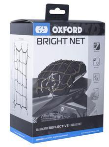 OXFORD OF124 BRIGHT NET siatka pająk z haczykami czarna fluorescencyjna SUPER CENY bagaż motocyklowy w sklepie motocyklowym MOTORUS.PL - 2822457745