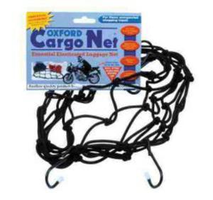 OXFORD OF127 CARGO NET siatka pająk z 6 haczykami czarna OXFORD SUPER CENY bagaż motocyklowy w sklepie motocyklowym MOTORUS.PL - 2822457746
