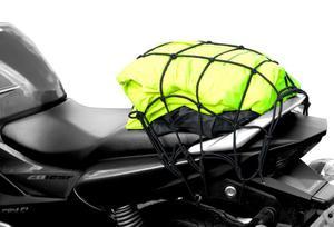 OXFORD OF177 CARGO NET XL siatka pająk z haczykami czarna SUPER CENY bagaż motocyklowy w sklepie motocyklowym MOTORUS.PL - 2822457747