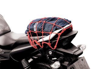OXFORD OF128 CARGO NET siatka pająk z 6 haczykami czerwona SUPER CENY bagaż motocyklowy w sklepie motocyklowym MOTORUS.PL - 2822457762