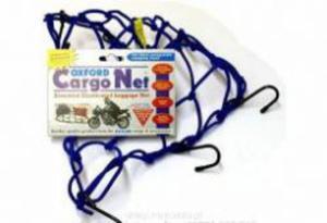 OXFORD OF129 CARGO NET siatka pająk z 6 haczykami Niebieska SUPER CENY bagaż motocyklowy w sklepie motocyklowym MOTORUS.PL - 2822457763