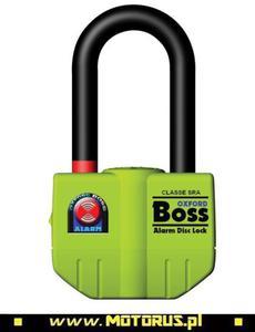OXFORD OF3 BOSS ALARM kłódka z alarmem 100dB OXFORD zabezpieczenia akcesoria motocyklowe w sklepie motocyklowym MOTORUS.PL - 2822457779
