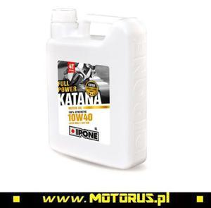 IPONE FULL POWER KATANA 10W40 OLEJ SILNIKOWY 100 % SYNTETYK 4L (ESTER MA2) (800361) IPONE super CENY na oleje i chemię motocyklową sklep motocyklowy MOTORUS.PL - 2822457929