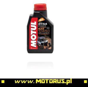 MOTUL 10W50 ATV-SXS POWER 4T olej motocyklowy silnikowy 1L MOTUL oleje silnikowe i chemia motocyklowa PROMOCYJNE CENY sklep motocyklowy MOTORUS.PL - 2822457995