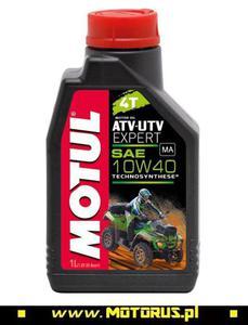MOTUL 10W40 ATV-UTV EXPERT 4T olej motocyklowy silnikowy 1L MOTUL oleje silnikowe i chemia motocyklowa PROMOCYJNE CENY sklep motocyklowy MOTORUS.PL - 2822457997
