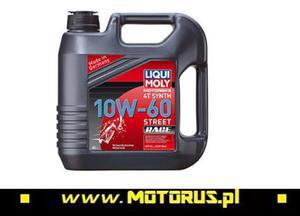 LIQUI MOLY 1687 RACE 10W60 4T olej motocyklowy silnikowy 4L LIQUI MOLY 1687 RACE 10W60 4T olej motocyklowy silnikowy 4L - 2822458076