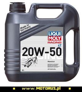 LIQUI MOLY 1696 Street 20W50 4T olej motocyklowy silnikowy 4L LIQUI MOLY 1696 Street 20W50 4T olej motocyklowy silnikowy 4L - 2822458078