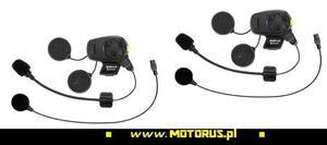SENA SMH5D-FM-UNIV interkom BLUETOOTH 3.0 do 700M z radiem FM motocyklowy do kasku zestaw UNIWERSALNYCH mikrofonów 2 szt. SENA najlepszy ceny z rabatem sklep motocyklowy MOTORUS.PL - 2822459149
