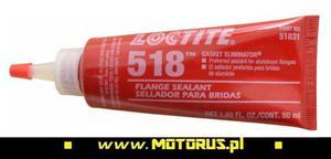 LOCTITE 518 preparat do uszczelnień i zarysowań stal aluminium termiczny 50ml LOCTITE uszczelnienia, kleje do gwintów i śrub PROMO CENY sklep motocyklowy MOTORUS.PL - 2822459389