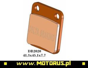 DELTA BRAKING DB2020QD-D klocki hamulcowe KH54 DELTA BRAKING motocyklowe klocki tarcze hamulcowe PROMO CENA sklep motocyklowy MOTORUS.PL - 2822460234