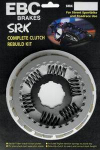 EBC SRK046 zestaw komplet sprzęgła z ARAMIDOWE sportowe KAWASAKI W650 99-05, W800 13-16, VN900...