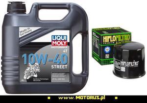 LIQUI MOLY 1243 Street 10W40 4T olej motocyklowy silnikowy 4L + FILTR OLEJU LIQUI MOLY 1243 Street 10W40 4T olej motocyklowy silnikowy 4L - 2822470241