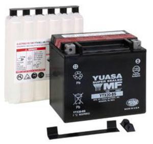 YUASA YTX20-BS 12V 18,9Ah 270A L+ bezobsługowy akumulator motocyklowy SUCHY z elektrolitem YUASA akumulatory baterie motocyklowe SUPER CENY sklep motocyklowy MOTORUS.PL - 2844958680