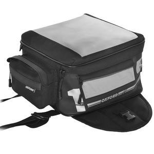 OXFORD F1 SMALL torba na zbiornik z magnesami 18L czarny OXFORD torba na bak Tank Bag SUPER CENY w sklepie motocyklowym MOTORUS.PL - 2855372735