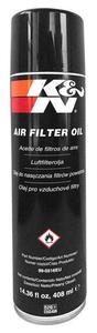 KN olej do nasączania sportowego filtra powietrza SPRAY 408ml KN motocyklowe filtry oleju i powietrza SUPERA CENA sklep motocyklowy MOTORUS.PL - 2855372740