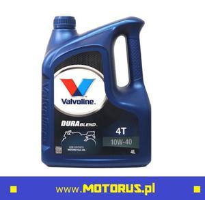 VALVOLINE DURABLEND 4T 10W40 4L olej motocyklowy silnikowy 4L VALVOLINE oleje i chemia motocyklowa SUPER CENY sklep motocyklowy MOTORUS.PL - 2859904148