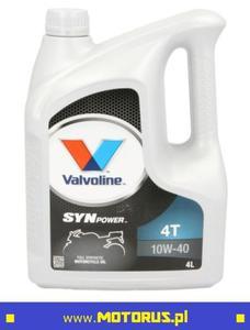 VALVOLINE SYNPOWER 4T 10W40 4L Full syntetyk olej motocyklowy silnikowy 4L VALVOLINE oleje i chemia motocyklowa SUPER CENY sklep motocyklowy MOTORUS.PL - 2859904149