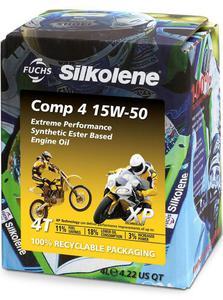SILKOLENE COMP 4 15W50 XP ESTER olej silnikowy motocyklowy 4 Litry FUCHS Silkolene olej silnikowy w NAJLEPSZEJ CENIE w sklepie motocyklowym MOTORUS.PL - 2822431016