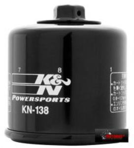 KN-138 motocyklowy sportowy filtr oleju Z NAKR - 2822427516
